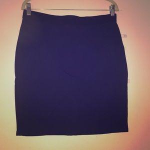 Madison Jules Navy Pencil Skirt Size Large